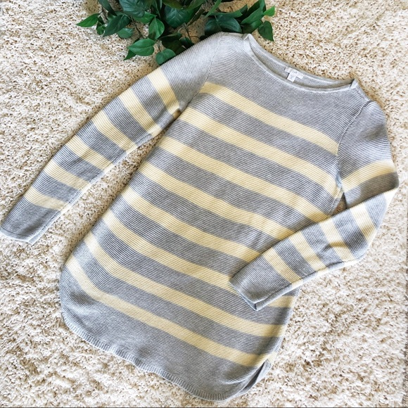 J. Jill Sweaters - J. JILL STRIPED SWEATER SIZE XS